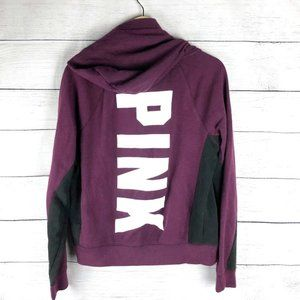 VS PINK   Hooded Zip Up Sweatshirt Jacket